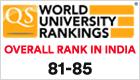 QS India Ranking 2020
