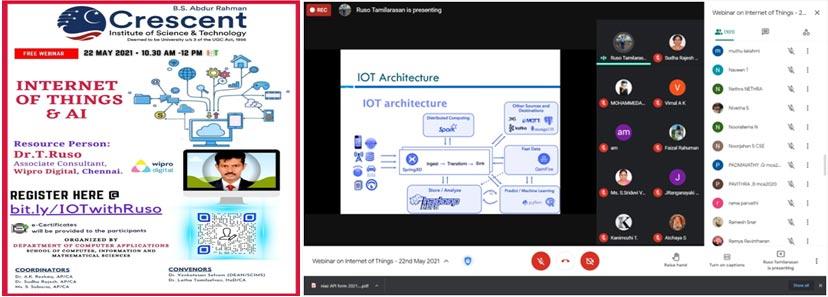 Webinar-Internet of Things & AI