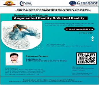 Augmented Reality & Virtual Reality