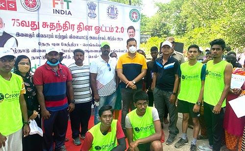 FIT India Freedom Run 2.0 at SDAT Chengalpattu